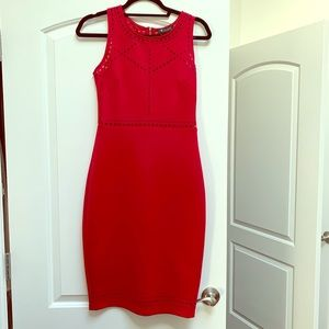 Guess red cocktail dress